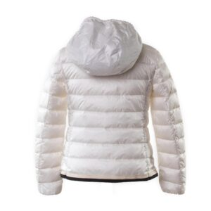 more photos 83602 fb93d MONCLER Giubbotto Tecla 100g bianco bambina