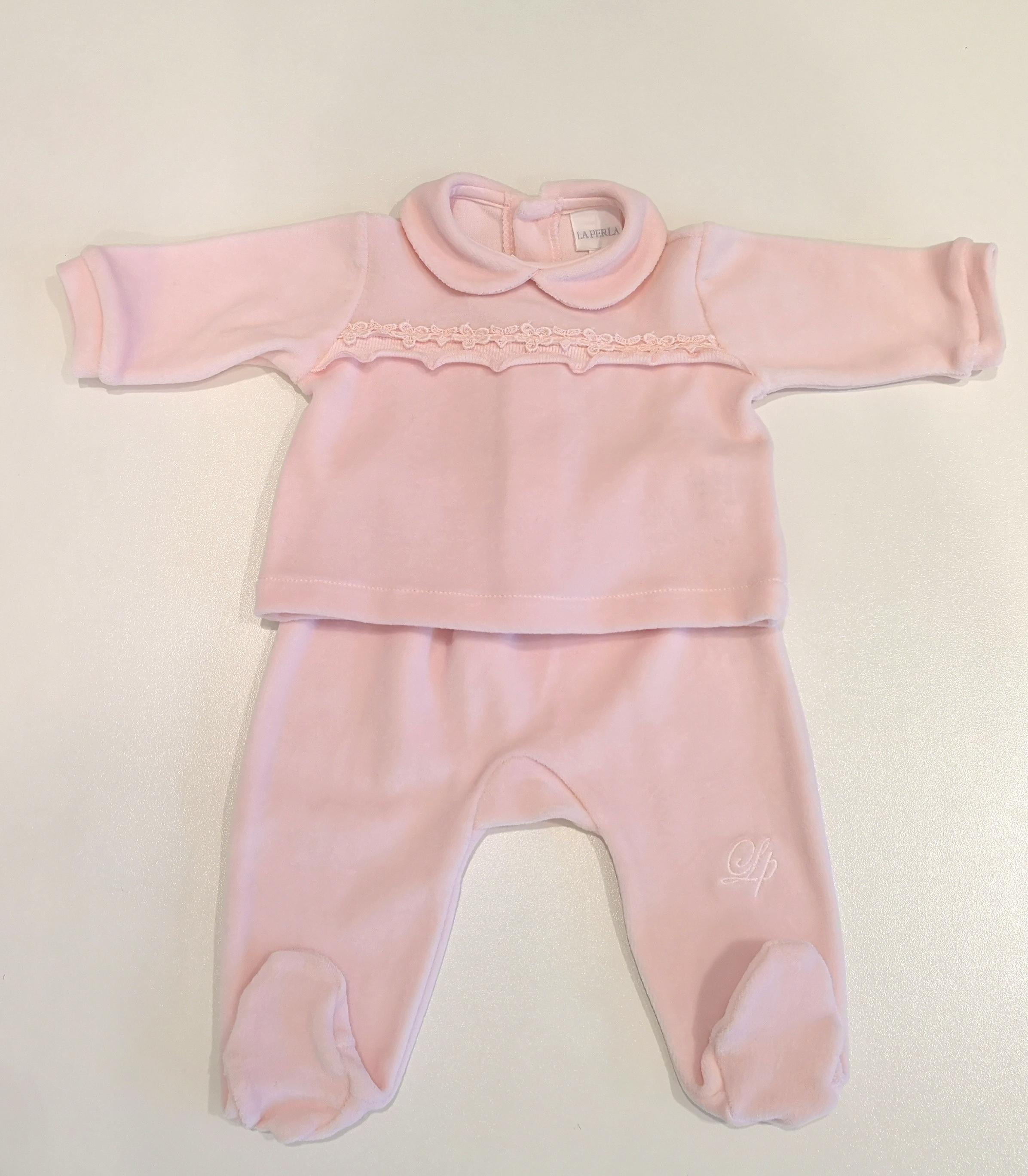 shop best sellers pretty cheap new appearance LA PERLA Completo coprifasce nascita ciniglia rosa